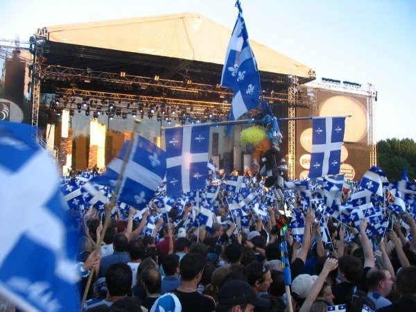 Le 24 juin, c'est la Saint Jean : Vive le Québec !
