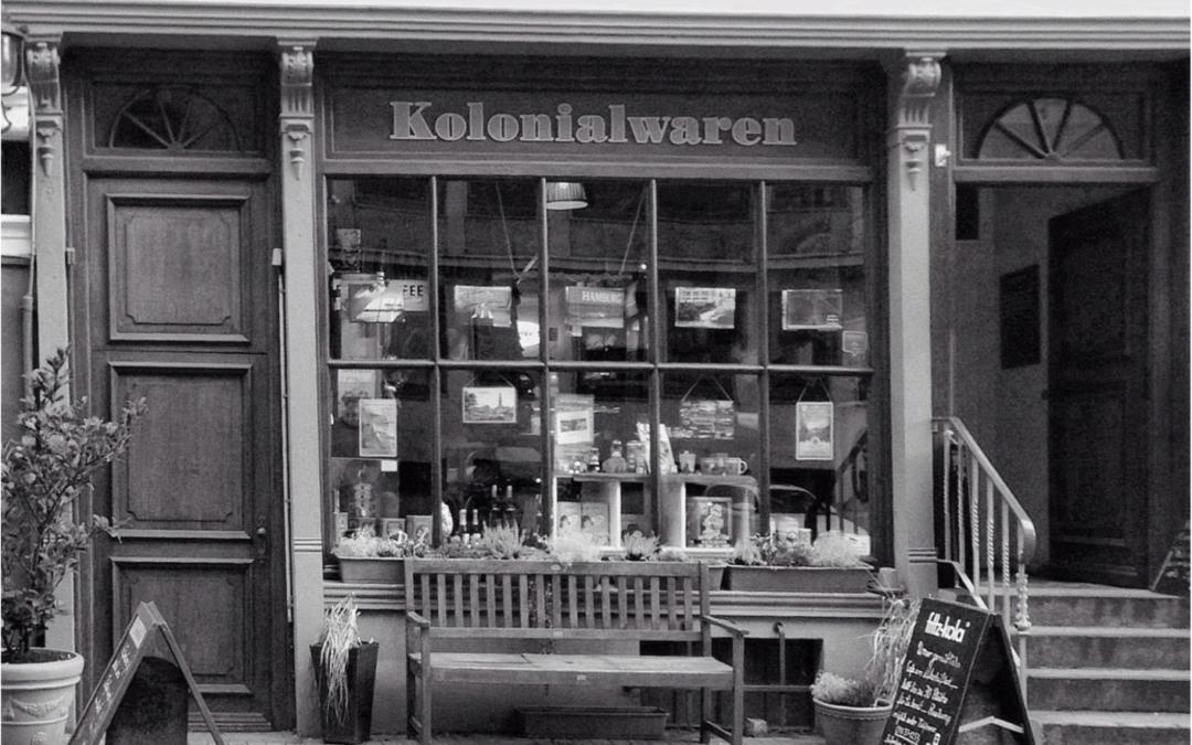 « Kolonialwaren » – magasin à Hambourg