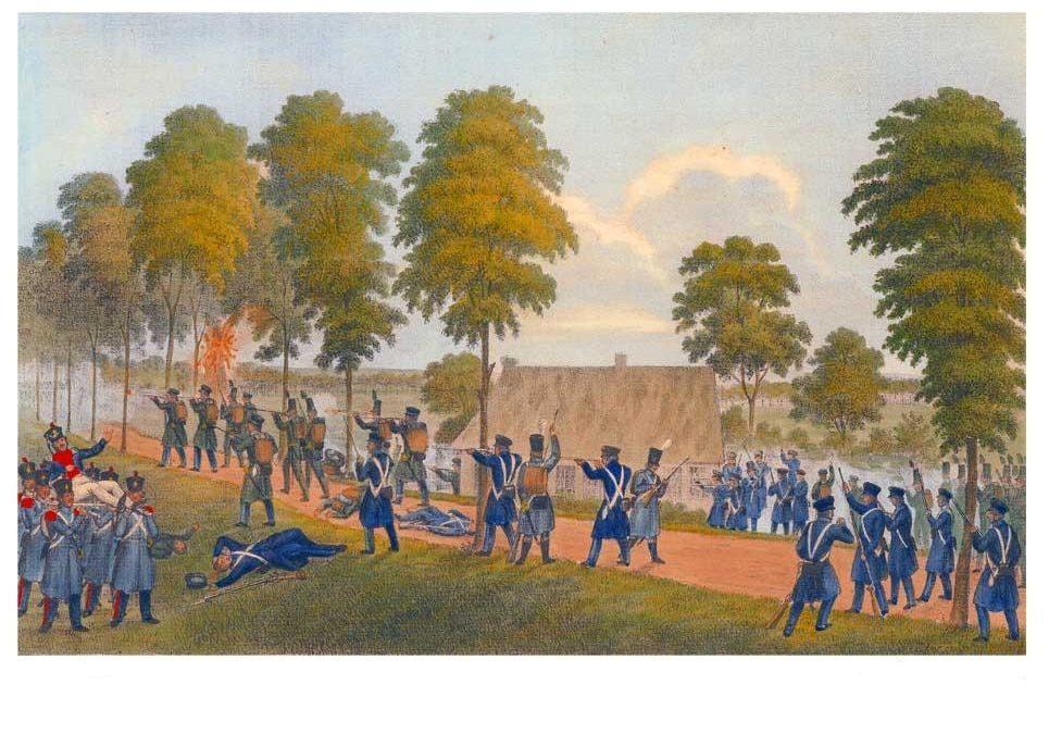 Bataille de Veddel – occupation française